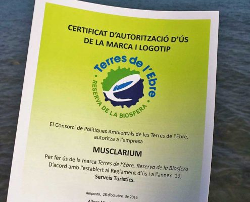 certificado terres de l'ebre