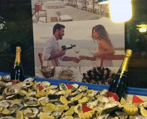 barco de ostras