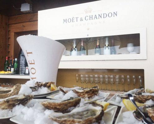 Musclarium & Moët Chandon